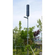 LED solar street lamp without power