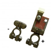 Batterieklemmen mit Sicherung 30A für Varta Batterien
