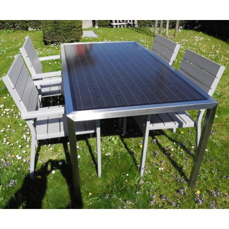 Solar Garden Table 6 People 200 Watt Solarenergy Shop