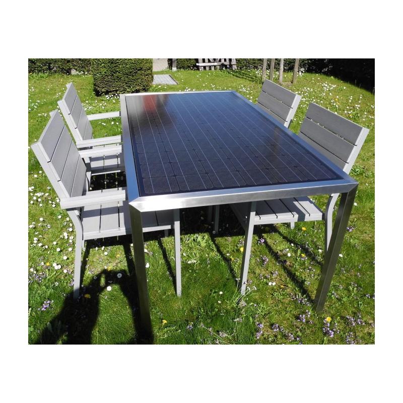 Gartentisch Für 6 Personen.Solar Gartentisch 6 Personen 200 Watt