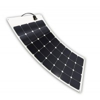 "Light flexible solar module ""Apollo"", 100 Watt 12 Volt, 2 mm thin, only 2 kg"