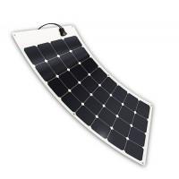 Moduli solari flessibili e impermeabili all'acqua salata da 100 Watt a 12 Volt 2 mm di spessore di soli 2 kg