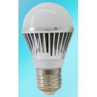 LED 12/24V 5 Watt E27 bulb, 550lm