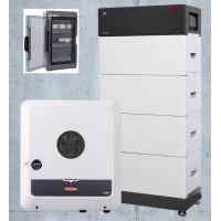 Batteria domestica BYD 10.2 kWh, inverter Fronius 8 kW con alimentazione di emergenza