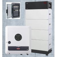 Batterie électrique domestique BYD 10.2 kWh, onduleur Fronius 8 kW avec alimentation de secours