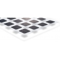 Solarmodul 24 Volt 255 Watt transparentes Laminat ohne Rahmen