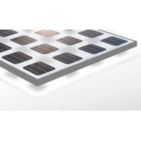 Modulo solare 24 volt 255 watt laminato trasparente con cornice