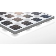 Solarmodul 24 Volt 255 Watt transparente mit Rahmen