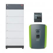 Batterie électrique domestique BYD 12.8 kWh, onduleur Kostal 10 kW