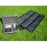 Expedition solaire type Suitcase 62W-30Ah-150W 10 kg