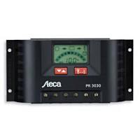 Regolatore di caricabatterie solari da 12Volt / 24Volt 10 Ampere con display LCD Steca