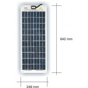 unWare 3062 cellules solaires semi-flexibles 18 watts 12 Volt