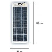 SunWare 3062 semiflexible Solarzellen 18 Watt 12 Volt 3mm dünn nur 1.9 Kg