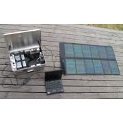 Solar Suitcase type Worker 62W-40Ah-350W-18kg