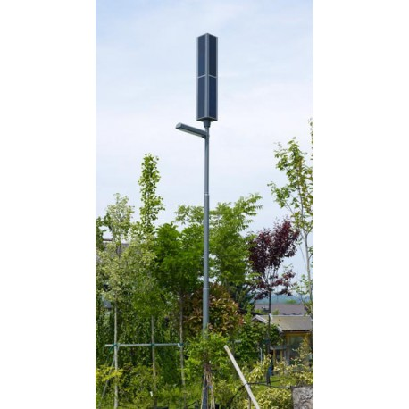 LED solar street lamp without power from the grid