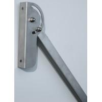 Universal mounting bracket for solar modules 66 cm