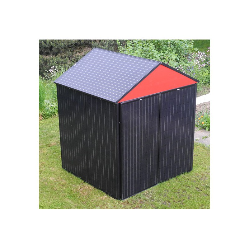 solar gartenhaus 2160 watt solarenergy shop. Black Bedroom Furniture Sets. Home Design Ideas