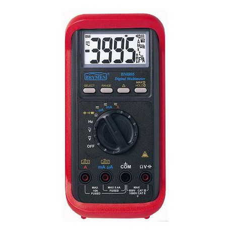 digitales multimeter amperemeter bm 805 solarenergy shop. Black Bedroom Furniture Sets. Home Design Ideas