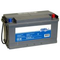 Batteria solare al GEL piombo Exide da 12 Volt, 90 Ah C 100