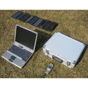 Solar Suitcase type Backpacker 10W-7.2Ah 70W-5.8kg