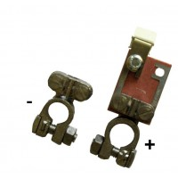Battery terminals with fuse 30A for Varta batteries