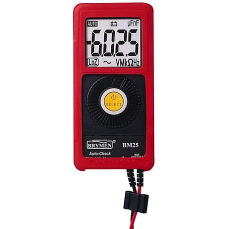 Portable Digital voltmeter, ohmmeter BM25