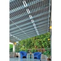 20 Stück transparente Solarmodule für die Veranda oder andere Spezialanwendungen