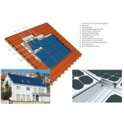 Mounting system for pitched roofs roof system Solrif
