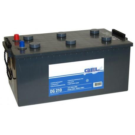 solar gel exide lead battery 12v 235 ah c100 solarenergy shop. Black Bedroom Furniture Sets. Home Design Ideas