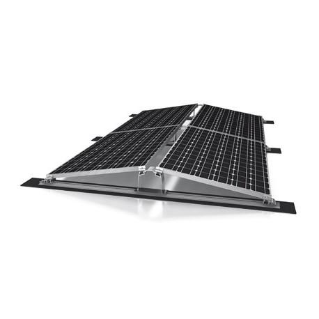 Sistemi di montaggio per tetti piani sistemi standard est for Piani chiave di casa ovest