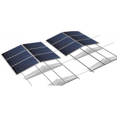 Système de fixation pour toits plats système edgewise est-ouest