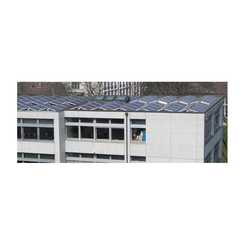 Sistemi di montaggio standard per tetti piani est ovest for Piani chiave di casa ovest