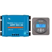 Regolatore di caricabatterie solari MPPT da 100 Volt 50 Ampere con display
