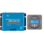 MPPT solaire contrôleurs de charge 100V 50 Amp avec affichage