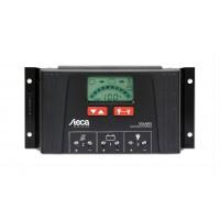 Contrôleur de charge solaire 12V / 24V 40 Ampères écran LCD Steca