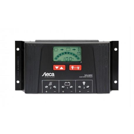 Solar Batterie Laderegler 12V/24V 40 Ampere LCD Anzeige Steca