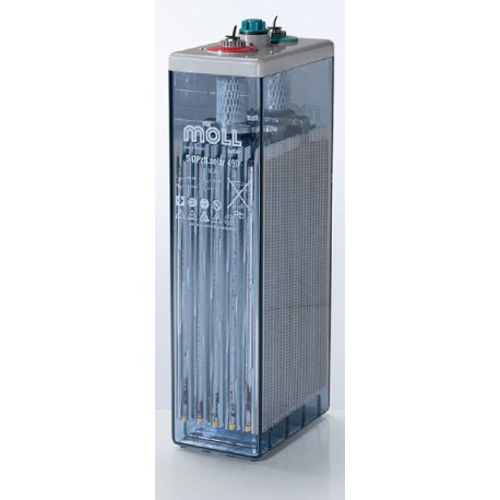 OPzS Solar Blockbatterien 2V 4420 Ah bis 20 Jahre Betrieb bei max. 15'000 Zyklen