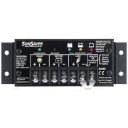 Regolatore di carica solare Morningstar SunSaver SS-20L da 680 Watt, 24 Volt, 20 Ampere, a scaricamento completo