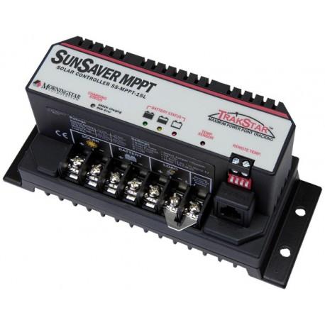 Regolatore di carica solare Morningstar Sun Saver SS-MPPT-15L con tracker MPP da 15 Ampere, 12/24 Volt