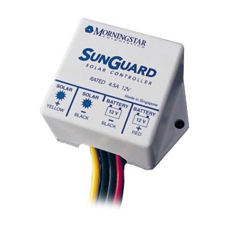Regolatore di carica solare Morningstar Sun Guard SG-4 da 4,5 Ampere, 12 Volt