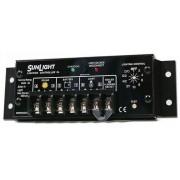 régulateur de charge solaire Morningstar SunLight SL-10L-24V Auto. Contrôle de l'éclairage, 24V, 10A