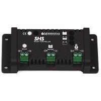 Regolatore di carica solare domestico Morningstar SHS-6 da 100 Watt, 6 Ampere, 12 Volt, a scaricamento completo