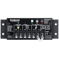 Regolatore di carica solare Morningstar SunSaver SS-6L 100 Watt, 6 Ampere, 12 Volt, a scaricamento completo