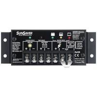 Regolatore di carica solare Morningstar SunSaver SS-10L da 340 Watt, 10 Ampere, 24 Volt, a scaricamento completo