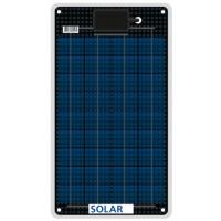 Flexibles salzwasserfestes Solarzellen 12 Watt 12 Volt 3mm dünn nur 0.9 kg