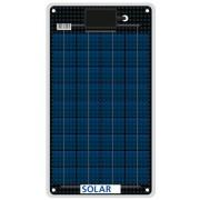 Eau salée flexible panneau solaire résistant à 12 watts 12 volts 3mm minces 0,9 kg