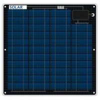 Flexibles salzwasserfestes Solarmodul 27 Watt 12 Volt 3mm dünn nur 1.7 kg