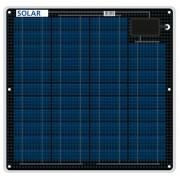 Flexibles salzwasserfestes Solarmodul 27 Watt 12 Volt 3mm dünn nur 1.7kg