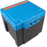 Batterie agli ioni di litio da 12 Volt, 40 Ah, 200 Ampere con BMS integrato, caricabatterie da 230 V incl.