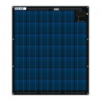 Flexible saltwater resistant solar panel 80 watt 12 volt 3mm thin only 3.7 kg